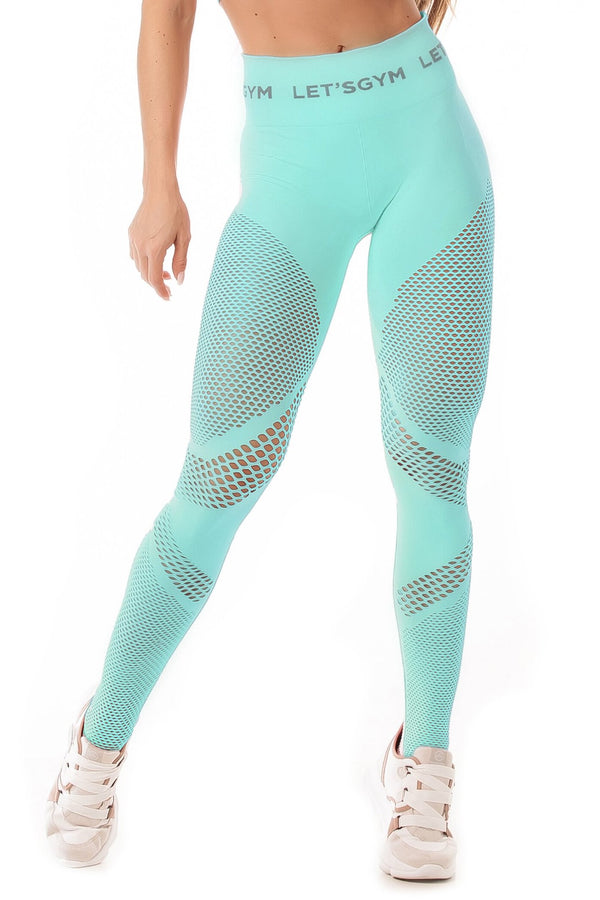 Leggings SEAMLESS - MINT