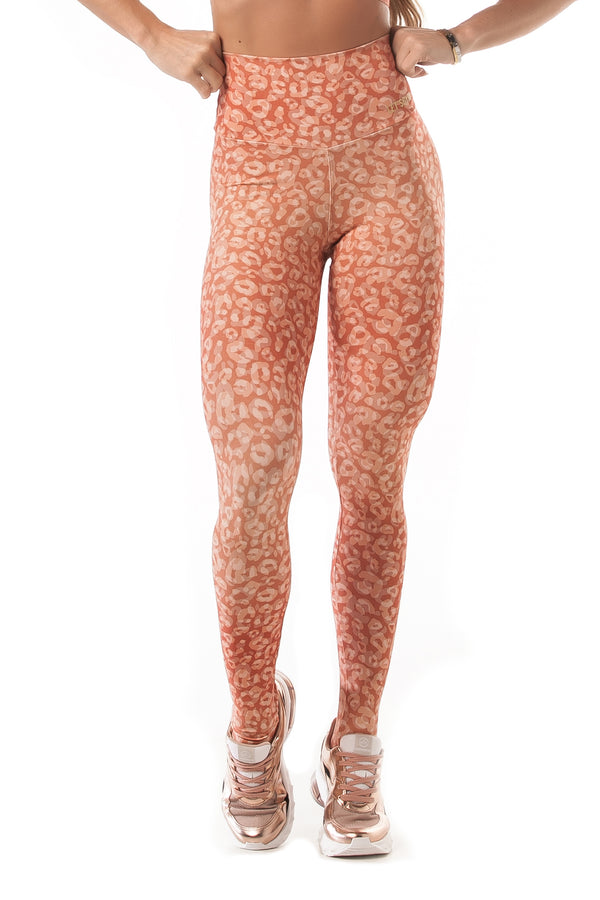Leggings NEO BASIC - CORAL