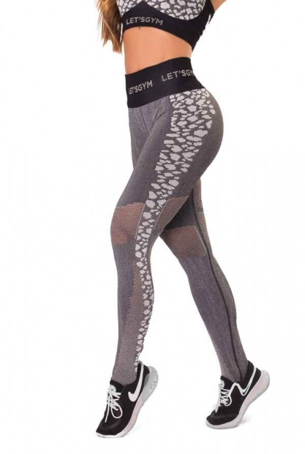 Leggings SEAMLESS Leopard Print