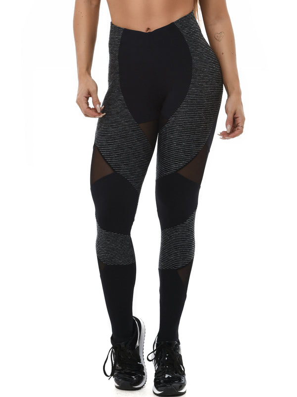Leggings EMANA SNAKE - Black