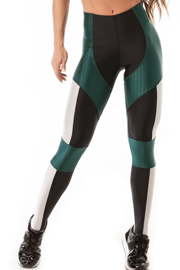 Leggings IKATE GLOW - Green