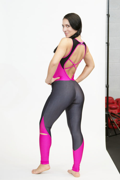 CajuBrasil USA Full Length Jumpsuit 7578 Fashion Fitness Sexy