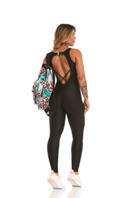 Jumpsuit ATLETIKA SWEETNESS - BLACK