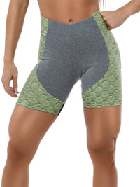 Shorts EMANA SNAKE - Lime