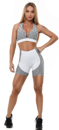 Shorts EMANA SNAKE - White
