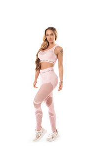 Leggings SEAMLESS - BABY PINK