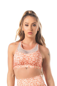 Bra Top NEO BASIC - CORAL