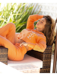 Cropped SPORT Fleece Trend - Orange