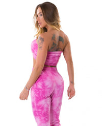 Bandeau TieDye Top FRESH - Pink