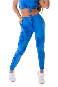 Jogger Pants Tie Dye FRESH - Blue
