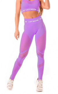Leggings SEAMLESS - Purple