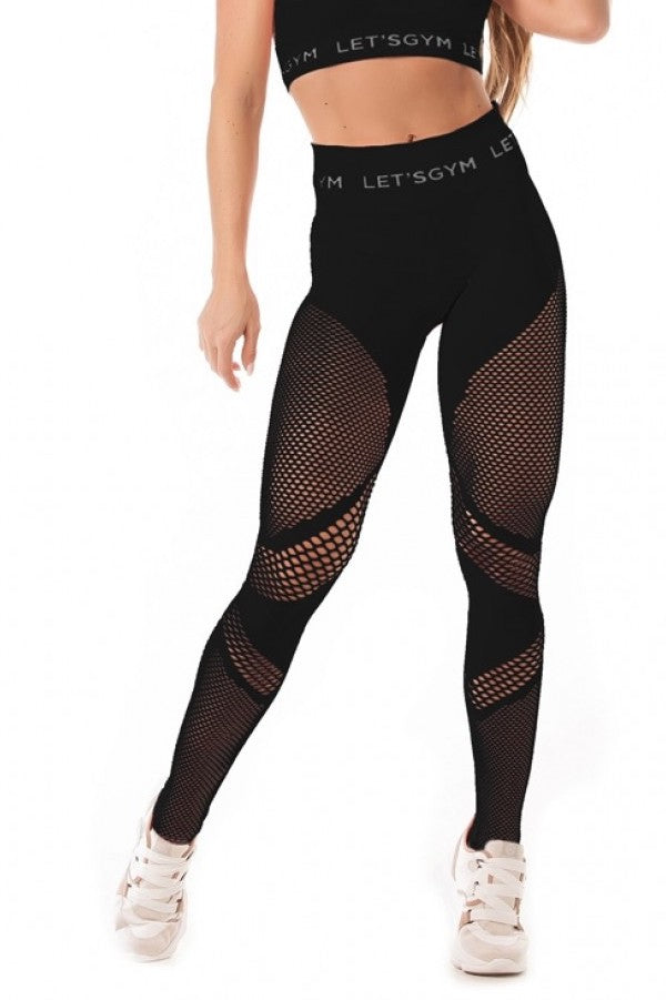 Leggings SEAMLESS - Black
