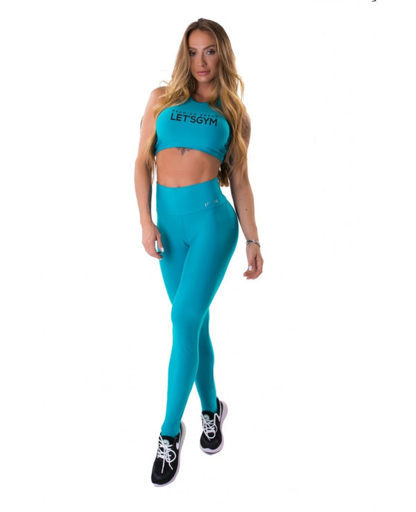 Push Up Leggings ENERGETIC - Acqua