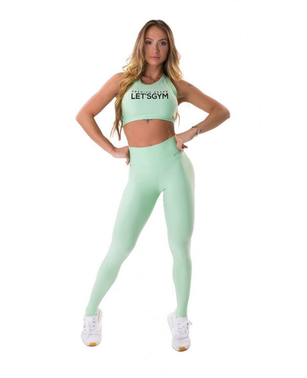 Push Up Leggings ENERGETIC - Mint