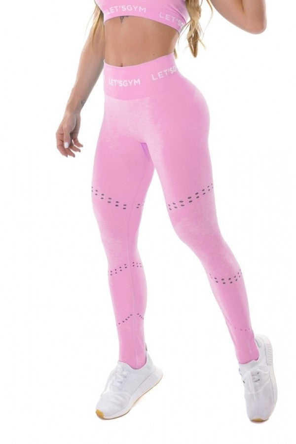 Seamless Leggings PERFECTION - Pink