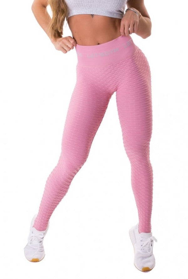 Leggings Seamless Honeycomb - Yogurt