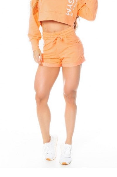 Shorts SPORT FLEECE TREND - Orange