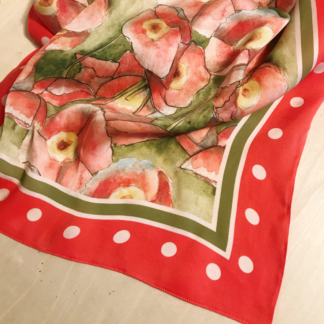 California Silk Scarf