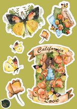 California Love Sticker Sheet