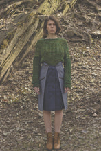 Yosemite Handmade Green Knit Fisherman Sweater