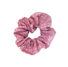 Pink Box Print Scrunchie