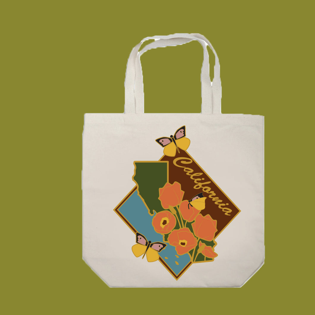 California Love Tote Bags