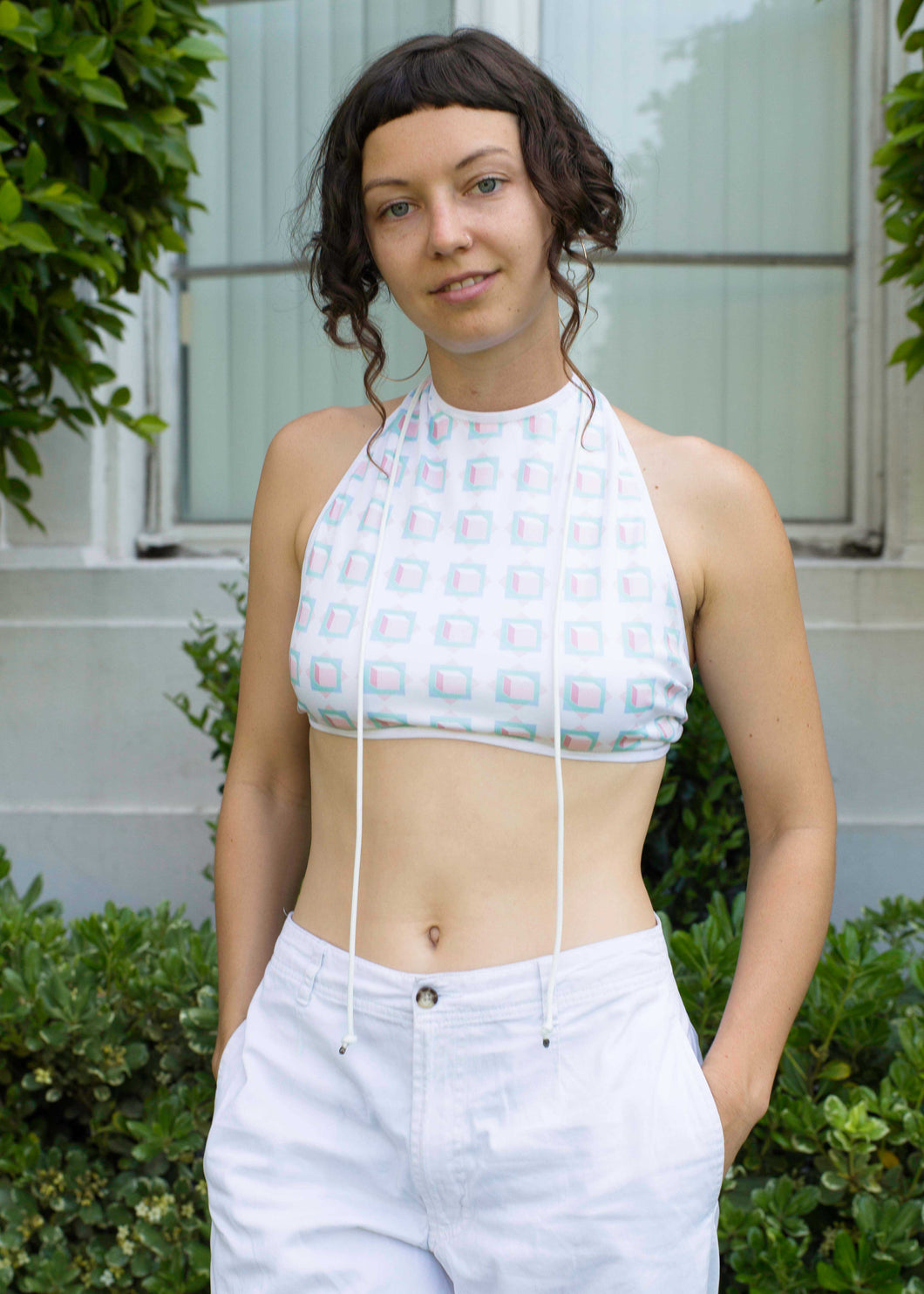Out of the Box Festival Crop Top