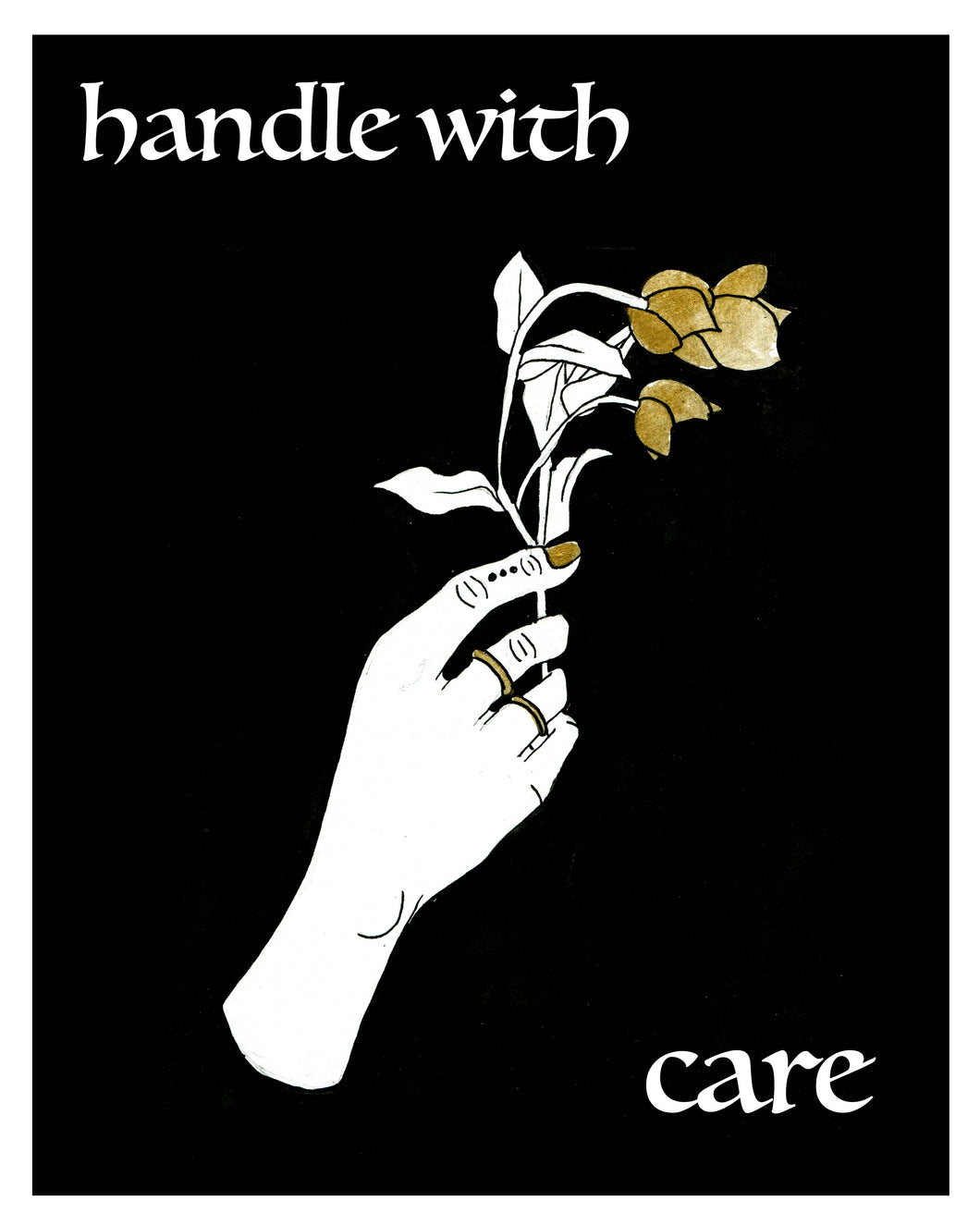 Handle With Care Print