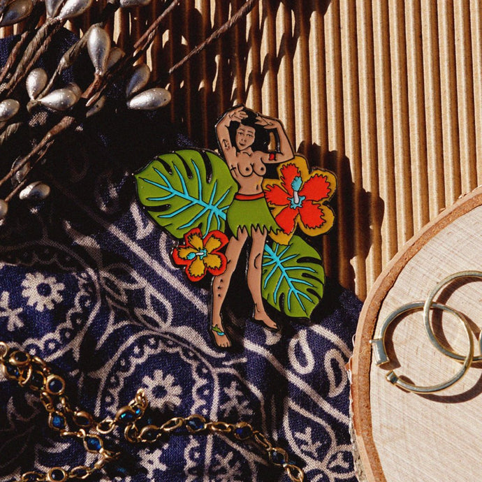 Hawaiian Bliss Pin up Pin