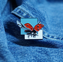 New York Lady Bug Enamel Pin
