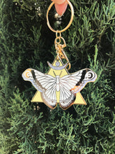 SECONDS- The Moth & I Keychain
