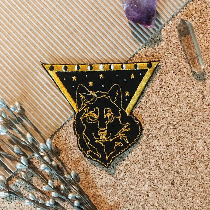 Limited Edition - Black Wolf Patch