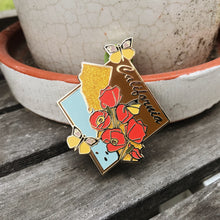 California State Enamel Pin