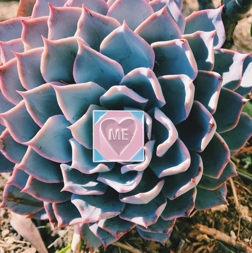 Love Me Mini Enamel Pin
