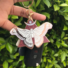 The Moth & I Keychain