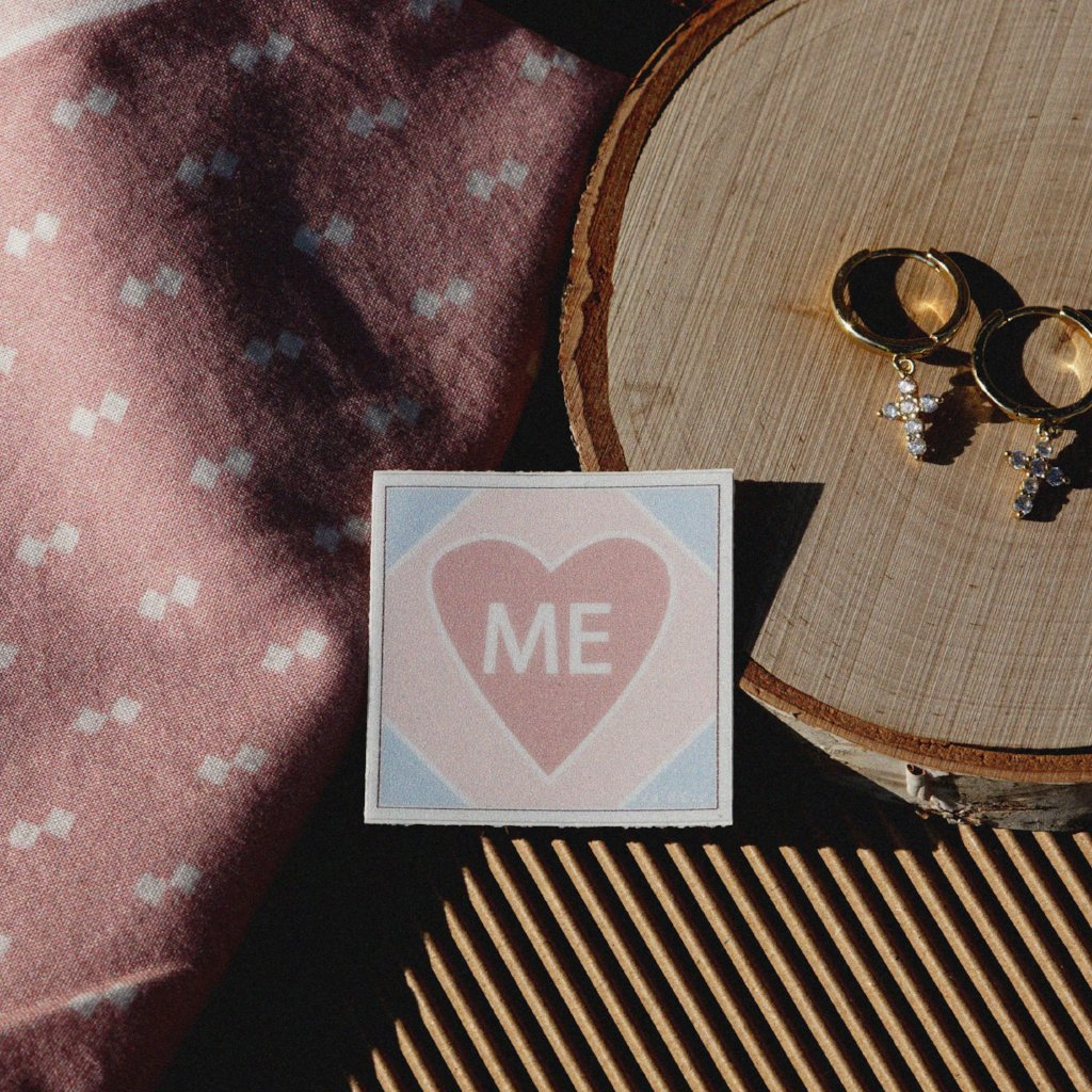 Love me sticker