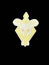Luna Moth Stickers