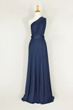 bridesmaid dress infinity Dress Convertible wrap dress - C style floor length