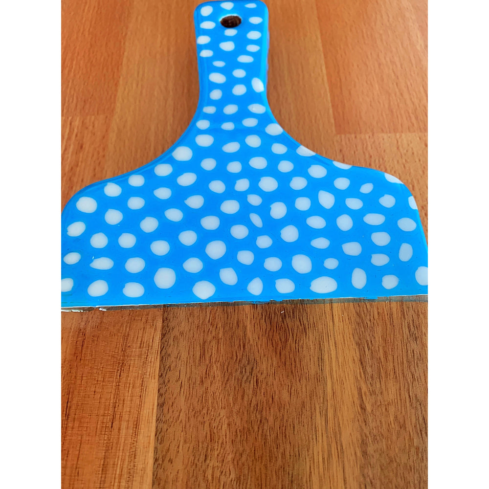 Small Dots Long Board Blue
