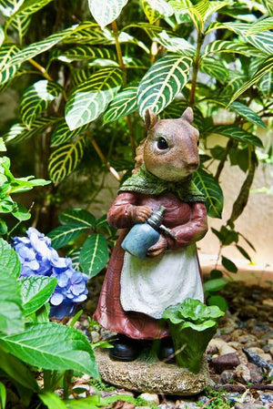 Mrs Gardening Squirrel