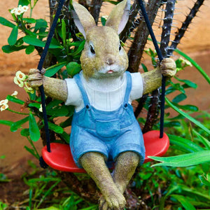 Rabbit on a Swing