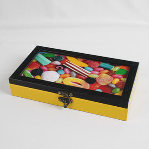 Yellow Candy Box