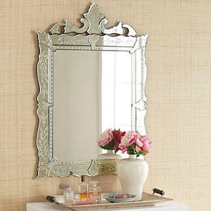 Rectangular Venetian Mirror for Bathroom