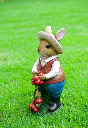 Mr Gardening Rabbit