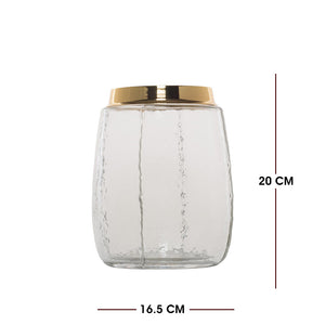 Transparent Vase Candle Holder