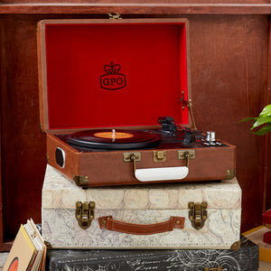 gpo attache turntable