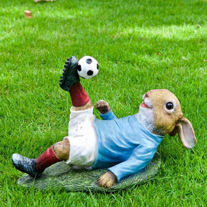 Overhead Football Rabbit