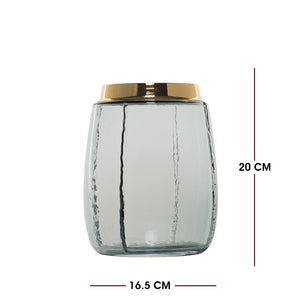 Casamotion Glass Vase Candle Holder