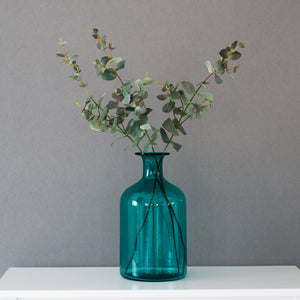 Rustic Turquoise Flower Arrangement Casamotion Centerpiece Home Decor Vase