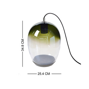 European Casamotion Modern Olive Green Table Lamp